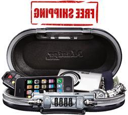 MASTER LOCK 0.60 cu.ft. Combination Lock Black Personal Safe