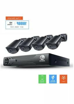 JOOAN 1080P 3000TVL HDMI HD 8CH DVR CCTV Home Security Camer
