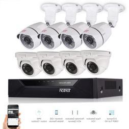 Tonton 1080P 8CH DVR CCTV Home Security Camera System 3000TV