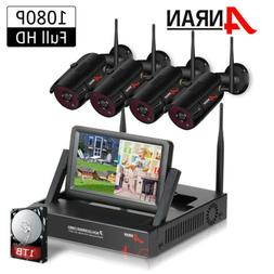 1080P CCTV Home Security Camera System Wireless Outdoor with