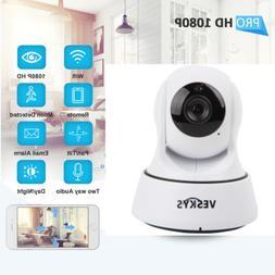 1080P HD Pan/Tilt Network Home Security CCTV Camera WiFi IP