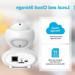 ANNKE 1080P IP Camera, Smart Wireless Pan/Tilt Home Security