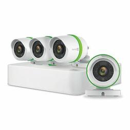 EZVIZ 1080p Smart Home Security Camera System, 4CH DVR 1TB H