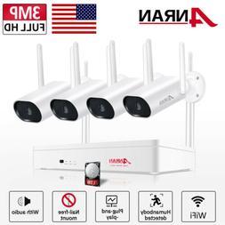 ANRAN 1080P WiFi Camera Security System Outdoor CCTV Audio 1
