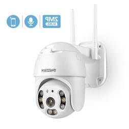 TMEZON 1080P HD IP CCTV Camera Waterproof Outdoor WiFi PTZ S