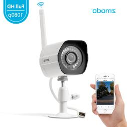 Zmodo 1080p Wireless Outdoor Home Security Camera,Night Visi
