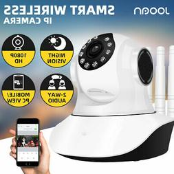 JOOAN 1080P Wireless WiFi IP Camera Home Security 2Way Audio