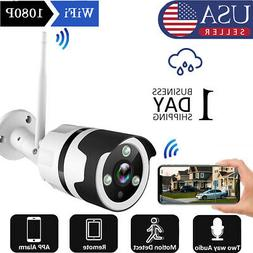 JOOAN 1080P Wireless WIFI IP Camera Outdoor Home Security IR