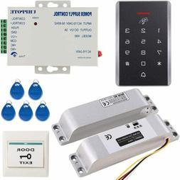 125KHz RFID Access Control Keypad Kit with 12V Electric Bolt