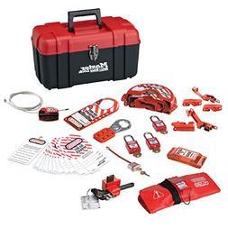 Master Lock 1457VE410KA Personal Safety Lockout Kit, Valve &