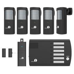 1byone Home Security SixWay Motion Detector Alarm Alert Sens