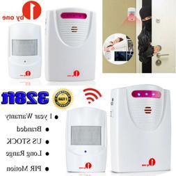1byone Wireless Home Security Driveway Alarm PIR Motion Sens