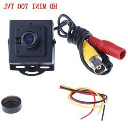 1Set mini HD 700TVL CCD 1/3 2.1mm lens CCTV home security su