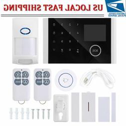 """2.4"""" GSM Wireless Burglar Security Alarm System Home Door Wi"""