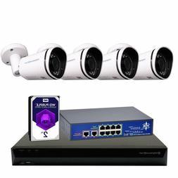 MorphXStar H.265 4K PoE NVR 8MP 2160P IP Cameras Surveillanc
