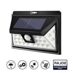 24 led solar garden light lamp outdoor