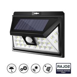 24 LED Solar Garden Light Lamp Outdoor Wireless Waterproof M