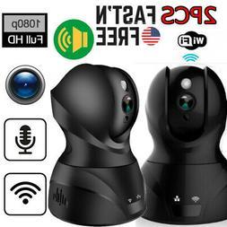 2Pack Wireless HD 1920P*1080P WiFi CCTV Outdoor IP Camera Ho