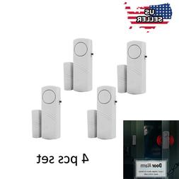 4 Home Safety Burglar Alarm Wireless System Security Device