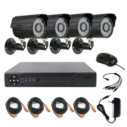 Anspo 4 PACK 720P 4in1 HD Camera Outdoor CCTV Home Security