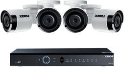 Lorex 8 Channel 4K NVR Security System, 2TB, 4 Color Night V