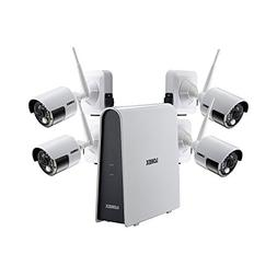 Lorex 4 Camera 1080p HD Wire-Free Security System, 6 Channel