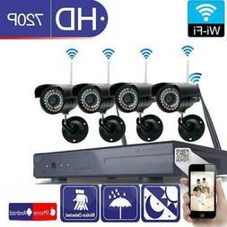 8CH 1080P Wireless NVR 36-LED Outdoor Wifi HD IR-CUT Camera