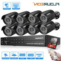 4CH/8CH 1080N AHD 1500/3000TVL Camera Security DVR CCTV Surv