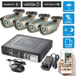 4CH DVR CCTV Home Security Camera System Surveillance 720P A