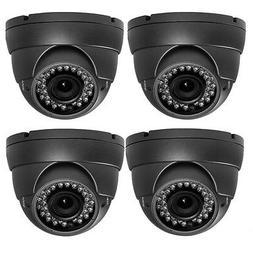 4pcs 1800TVL  2.8-12mm Vari -focal Lens Home CCTV Surveillan