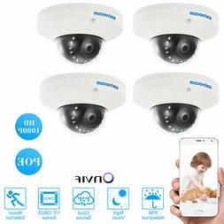 4PCS szsinocam FHD 1080P Onvif P2P IP Camera CCTV Weatherpro