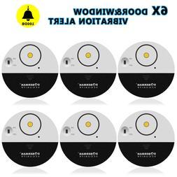 6x WIRELESS Home Window Door Burglar Security ALARM System M