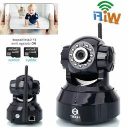 720P HD IR-CUT Wireless Monitor Home Security IP Camera Pan/