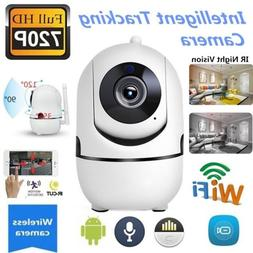 720P HD Wifi Camera Motion & Auto Tracking Two-Way Voice Hom