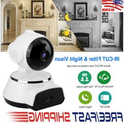 720P HD Wireless WIFI IP Camera Outdoor Night Vision Home Se