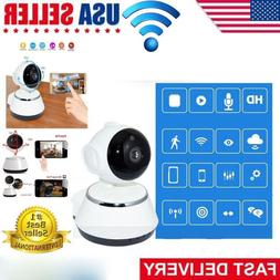 720P Wireless WIFI Pan Tilt Security IP Camera IR Night Home