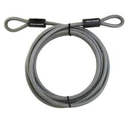 MasterLock 72DPF 15' Galvanized Steel Cable with Loop Ends