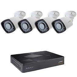 Q-See 8-Ch 4MP IP PoE NVR, 4-1080p PoE IP67 Rating, Color Ni