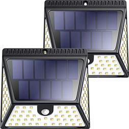 82 LEDs Solar Motion Sensor Lights Outdoor, ZOOKKI Super Bri