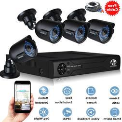 JOOAN 8CH 1080N DVR 1080P CCTV Security Camera System Home O
