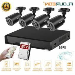 8CH 1080N HD DVR 1080P Outdoor CCTV Home Surveillance Securi