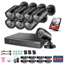 ANNKE 5IN1 8CH 1080P Lite DVR 2500TVL CCTV Home Security Cam