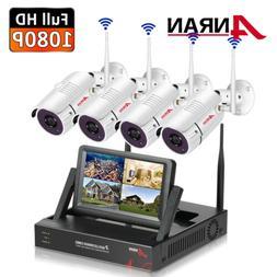 ANRAN 8CH 1280x960P HD Wireless Camera Surveillance System S