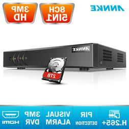 ANNKE 8CH 3MP 1920*1536P 5IN1 CCTV DVR for Home Security Cam