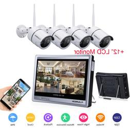 8CH /4CH 1080P HD Wireless/Wired DVR Kit CCTV Home Security