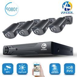 JOOAN 8CH 5In1 1080N DVR XVR 1080P Camera Outdoor Home Secur