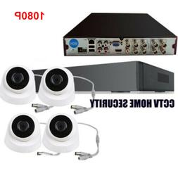 8CH AHD1080P DVR 960H Dome Camera Surveillance Security Syst