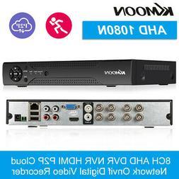 8CH CCTV Security Camera System Kit AHD DVR IR HD 1080P Home