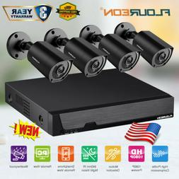 8CH DVR 3000TVL 1080P Outdoor Home Surveillance Security Cam