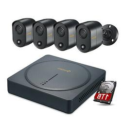 ZOSI 8CH 1080N 4in1 DVR 1TB HDD 720p Outdoor IR CCTV Home Se